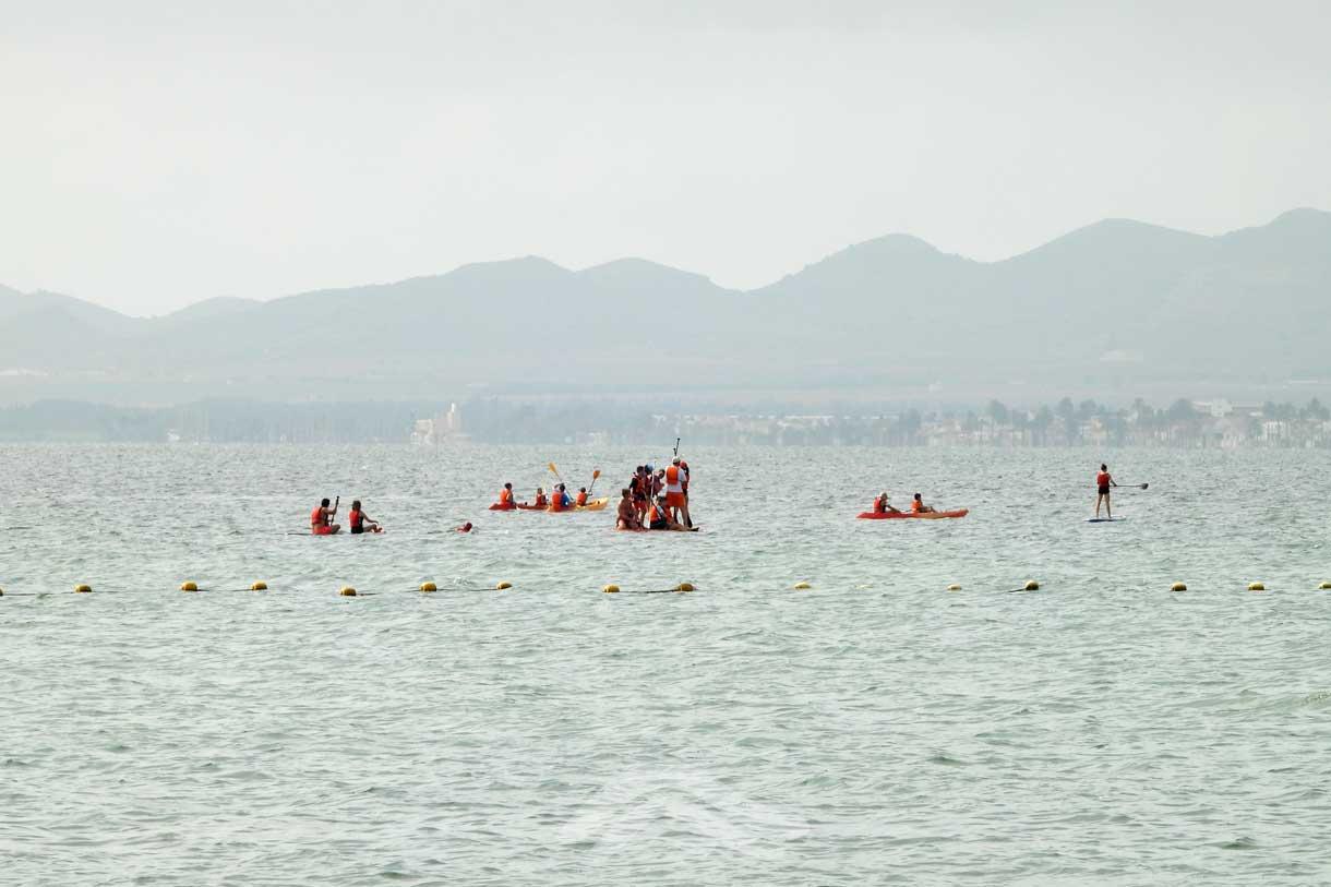 Actividades naúticas en familia en el Mar Menor