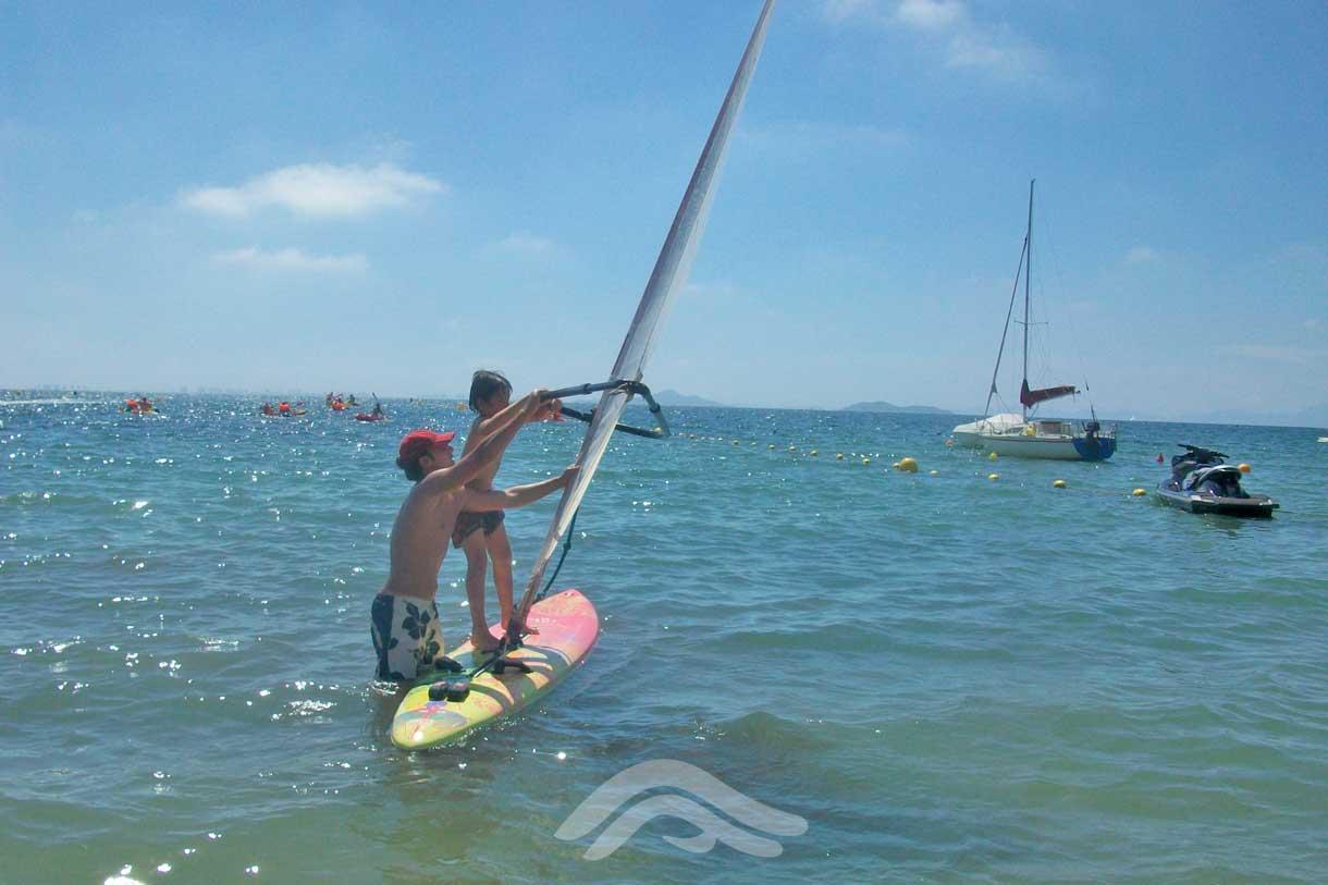 Actividad windsurf con Monitor