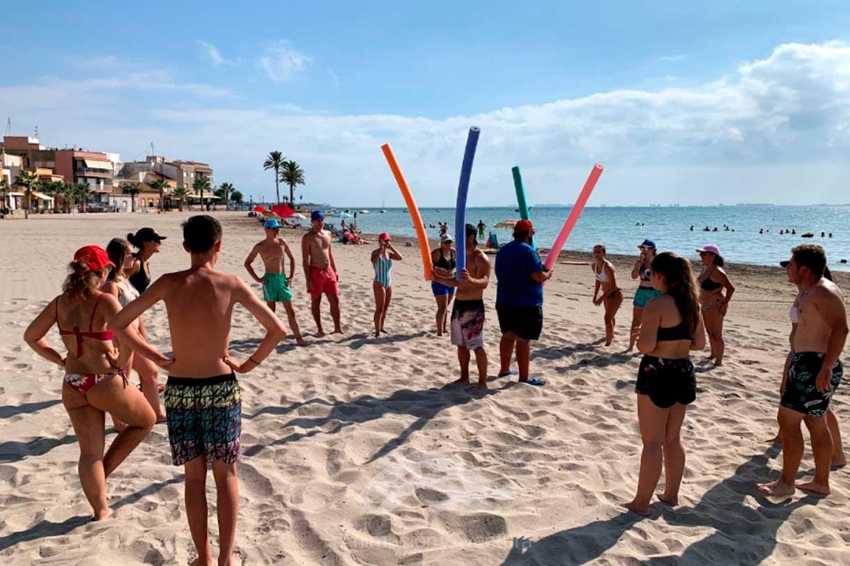 Formacion Curso Monitor actividades de playa