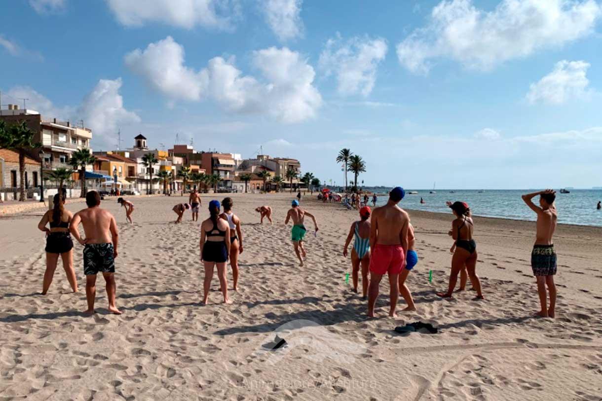Formacion Curso Monitor competiciones lúdicas en playa