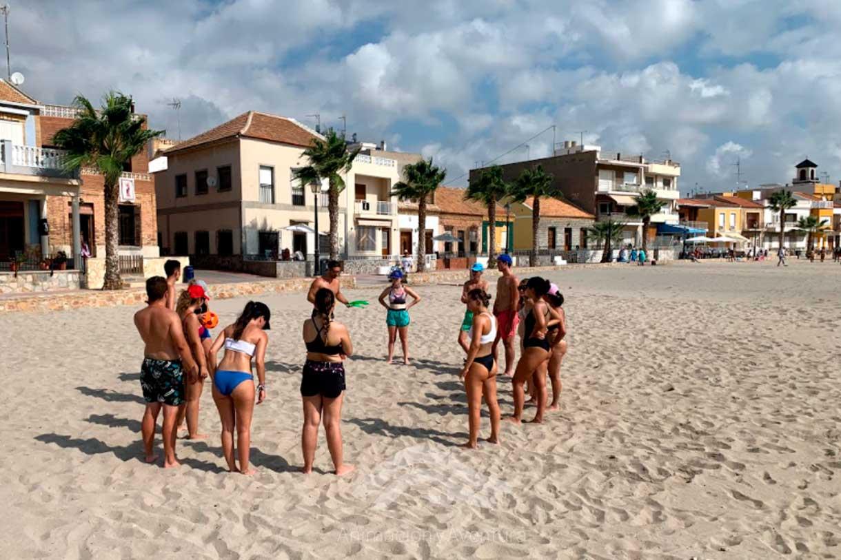 Formacion Curso Monitor dinámicas y juegos en la playa