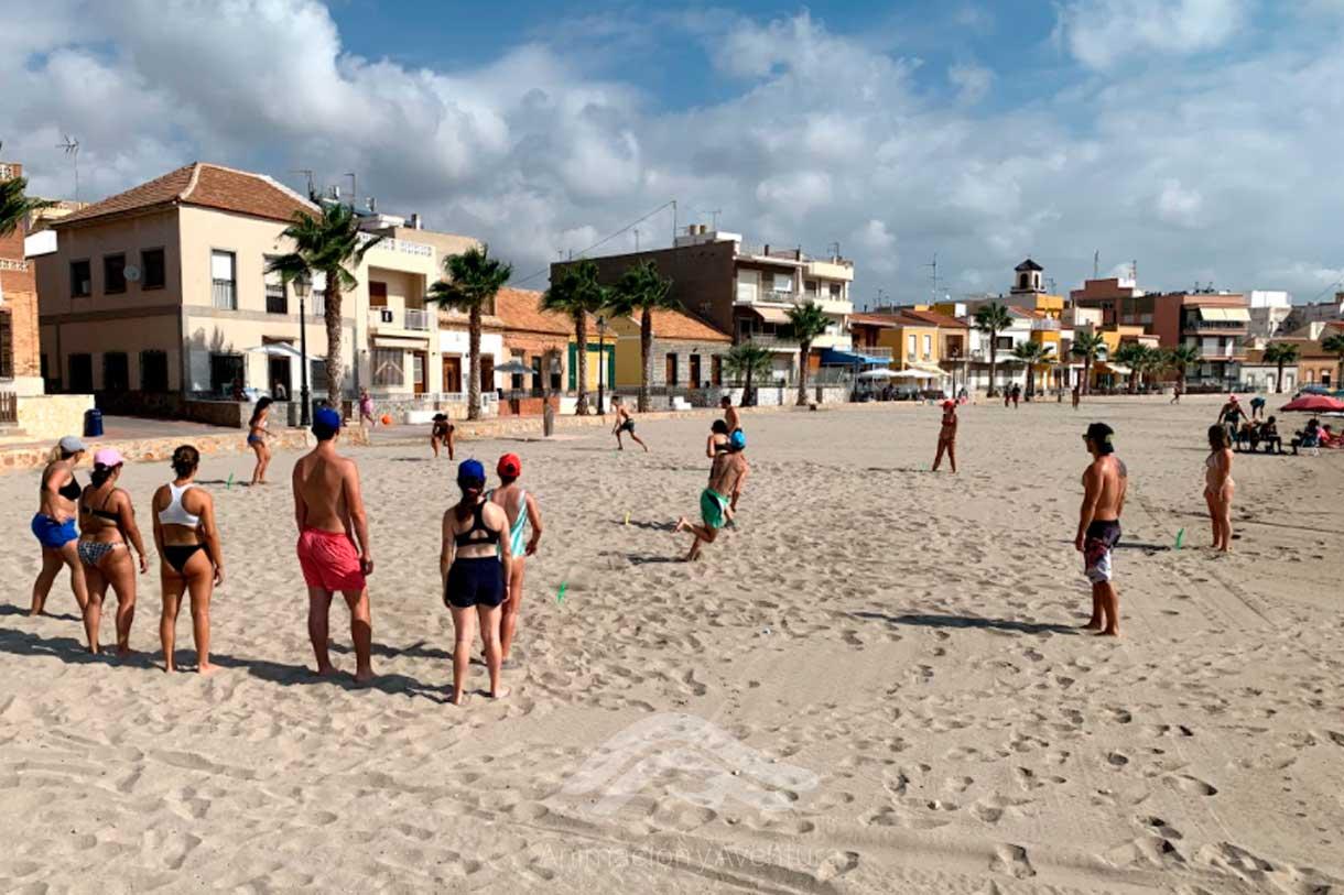 Formacion Curso Monitor juegos en la playa