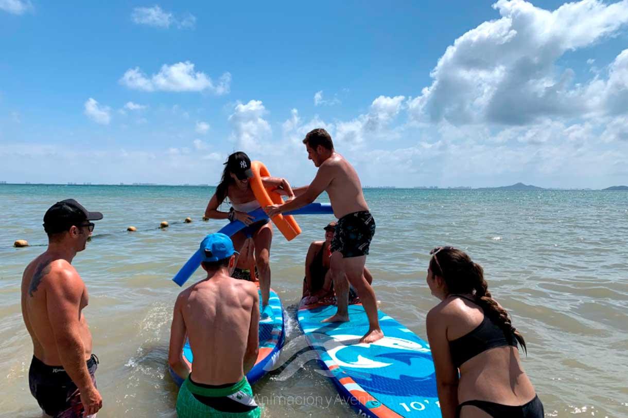 Formacion Curso Monitor juegos paddle surf