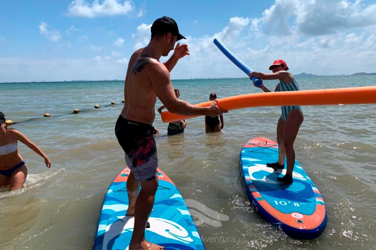 Formacion Curso Monitor prácticas paddle surf