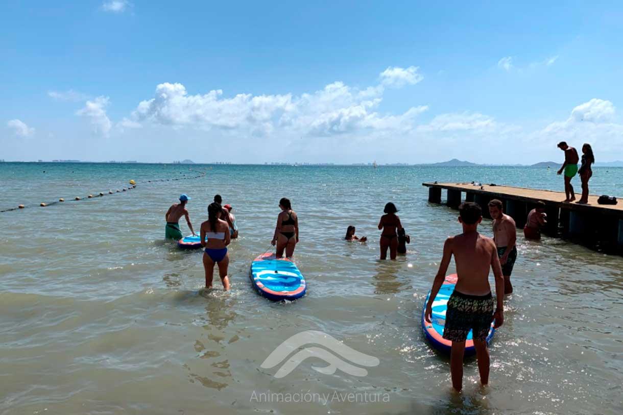 Formacion Curso Monitor práctiva paddel surf individual
