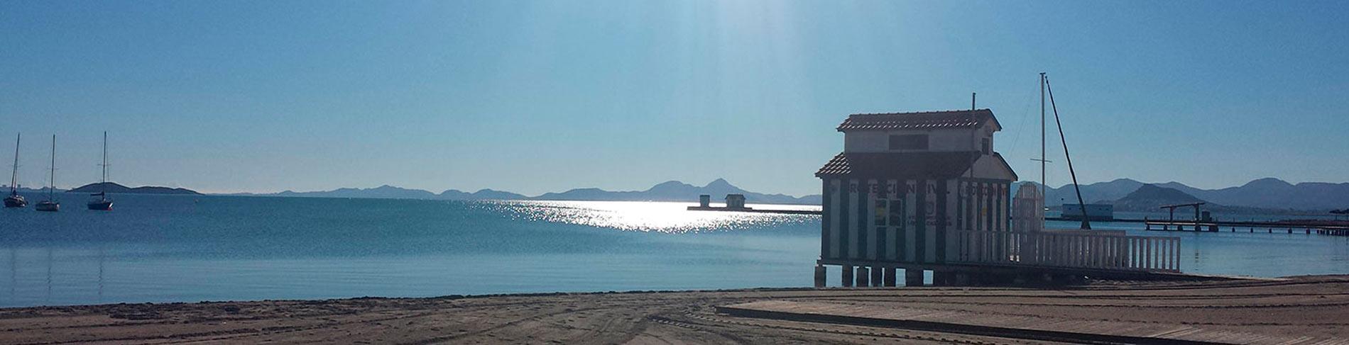 Mar Menor serie panoramica Balneario