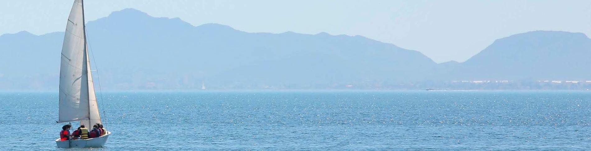 Mar Menor serie panoramica deportes nauticos
