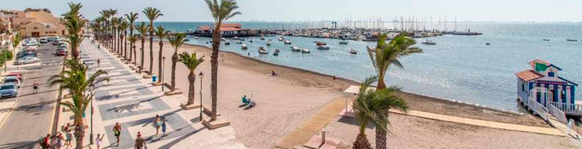 Mar Menor serie panoramica playa Los Alcazares