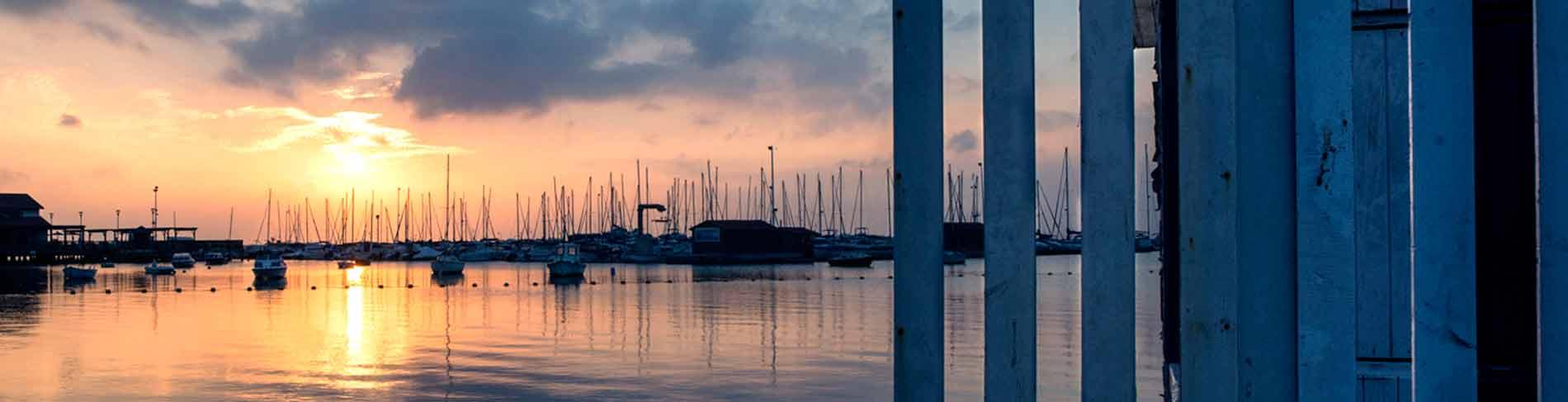Mar Menor serie panoramica puerto Los Alcazares