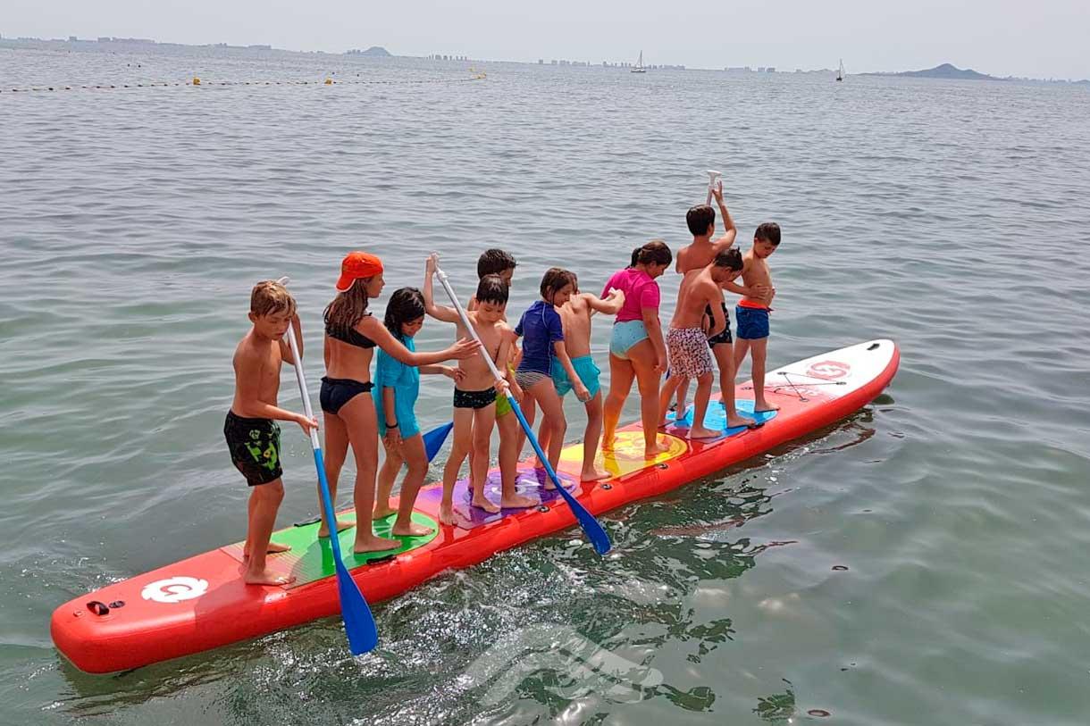 Dragon paddle para grupos