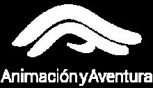 Logo_Animación y Aventura_blanco