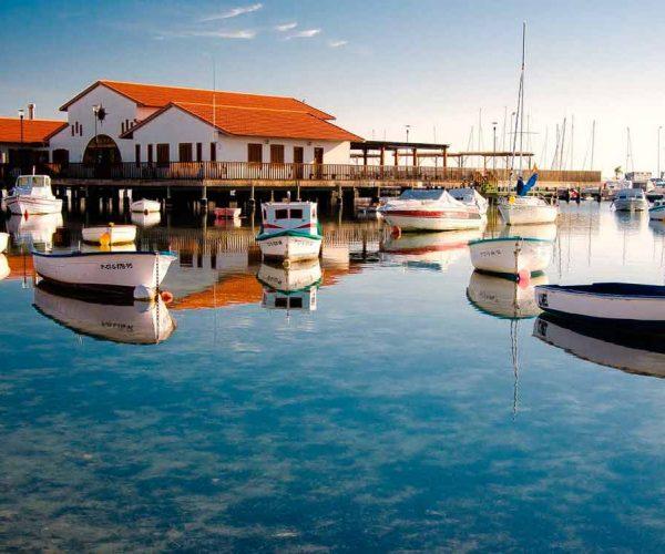 Balnearios en el Mar Menor