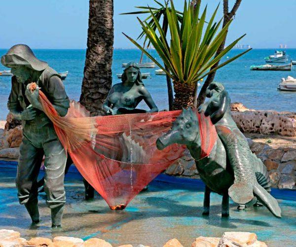 Homenaje a los pescadores